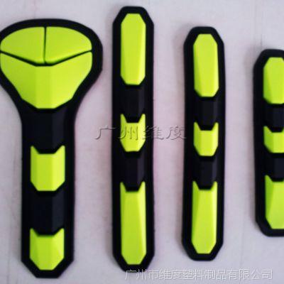 定做手套环保商标、手套防撞条、3D滴胶工艺 立体感强