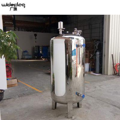 不锈钢无菌纯水箱定制 5吨面粉储存罐 正宗304材质 清又清