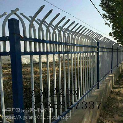 喷塑护栏 铁艺护栏网 小区围墙锌钢护栏 市政防护网