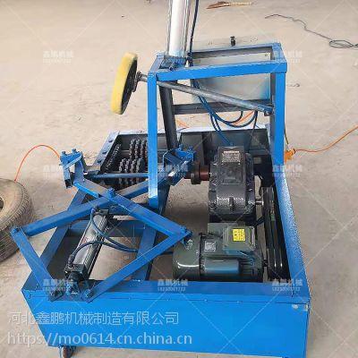 鑫鹏 废轮胎切割机 生产线投资小