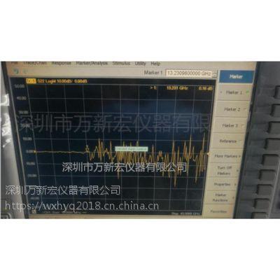 安捷伦N5244A网络分析仪维修案例分享