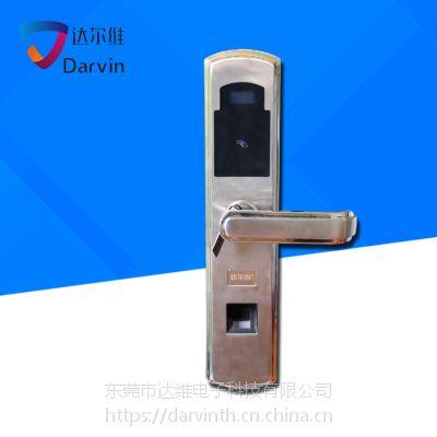 达尔维指纹锁 家用防盗门锁 智能电子锁 密码刷卡锁定制批发厂家