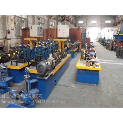 装饰管焊管机组 高效率制管机械设备 50直缝高频焊管机组焊管制造