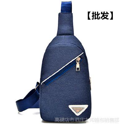 厂家批发男士新品胸包休闲户外单肩包多功能手提包支持批发单肩包