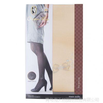 日本进口薄款美腿美臀连裤袜瘦腿丝袜连裤防勾丝春夏