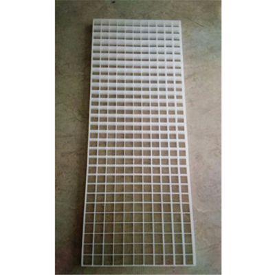 1300*500*30mm网格填料 蓝色长方形网格板 冷却塔填料厂家 品牌华庆