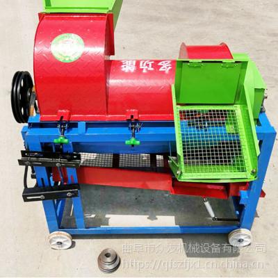 大型125稻谷脱粒机 电动打谷机 农用稻麦打场机厂