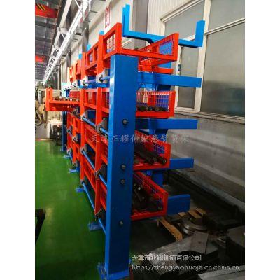 江苏不规则型材存储架 伸缩悬臂货架价格 厂家销售