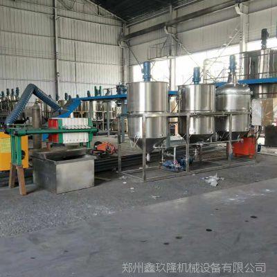 菜籽榨油机 小型精炼油设备 动物油加工设备