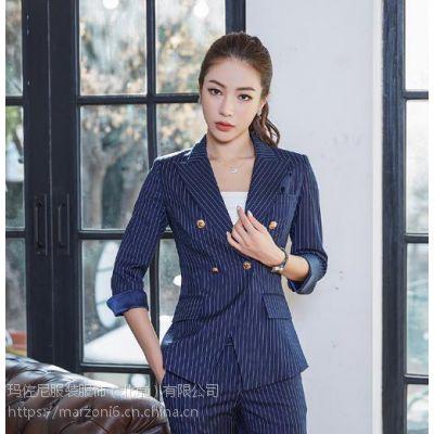 供应北京玛佐尼新款职业装女装套装 西服套装