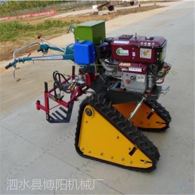 博阳供应家用牵引型起姜犁 履带自走黄姜大葱收获机型号/视频