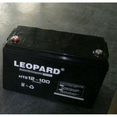 LEOPARD 美国美洲豹 HTS12V17AH UPS蓄电池 阻燃免维护蓄电池