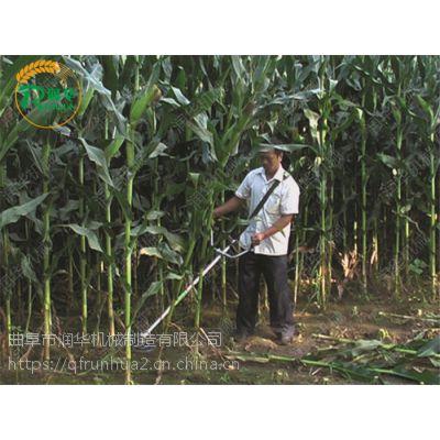 华盛动力农田割草机 蔬菜农场除草机 背负式割灌打草机