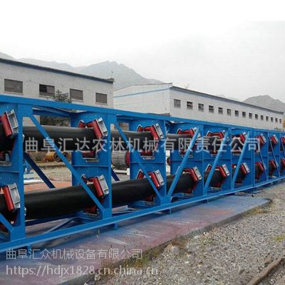 管状带式输送机输送各种粉状物料 规格齐全