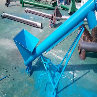 螺旋上料机非标设计螺旋提升机 谷子绞龙提升机