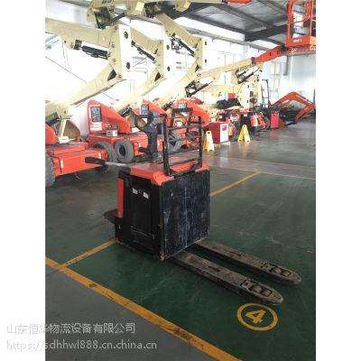 供应丰田BT2.4吨电动托盘搬运车 山东二手叉车 实地看车送货到家