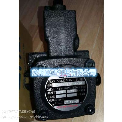 台湾ERLY油泵 台湾弋力叶片泵总代理