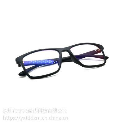 源头厂家货源新款负离子防蓝光眼镜 宇兴通达深圳品质负离子眼镜批发