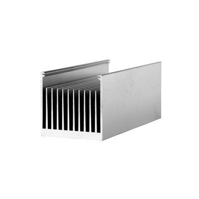 佛山大品牌铝型材厂家直销6063铝合金散热器型材 规格定制