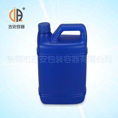 厂价直销2.5L塑料扁罐 化工水性塑料罐2.5公斤价格优惠
