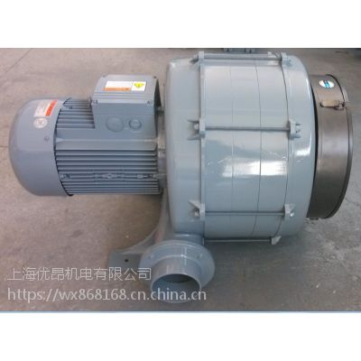 雾化干燥机、稀相气体输送设备用TB-1007-5.5KW优昂透浦式鼓风机
