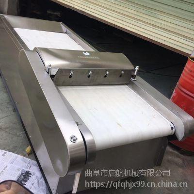 鱼豆腐切块机厂家 云南青香蕉切片机 启航豆芽菜切段机