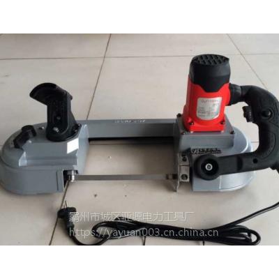 亚源厂家 电缆切割锯 DLY-100S 电动带锯机 价格