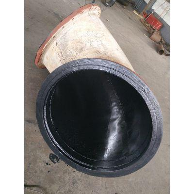 双法兰衬胶钢管衬塑管道生产厂家