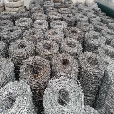 围墙刺绳 正反拧刺绳 刺丝的规格要求