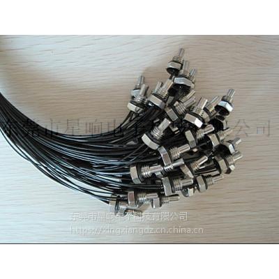 供应热敏电阻/NTC/头部带环形壳体NTC温度传感器/阻值10KΩ±5%-3977
