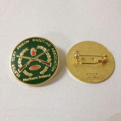诺林姆莱兰徽章定制,布纹胸徽生产,广东珐琅襟徽生产