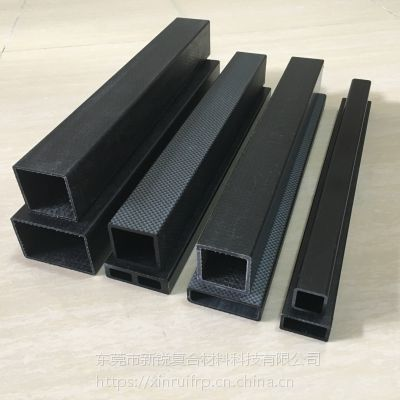 东莞市新锐碳纤维制品碳纤异型材碳纤条厂家定制机械挡板碳纤维条