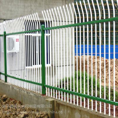 安平锌钢护栏厂家 小区栏杆 安平铁艺围栏价格