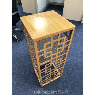 贺州售楼部四方桌2.5厚镂空西字铝单板'新款专区'
