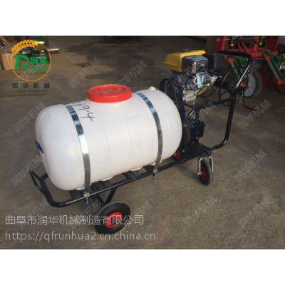节省人力的消毒打药车 100-400升打药桶容积的喷雾器 润华