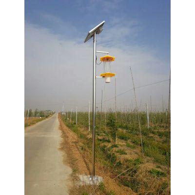 陕西频振式太阳能杀虫灯厂家直销高质量灭虫灯诱虫灯