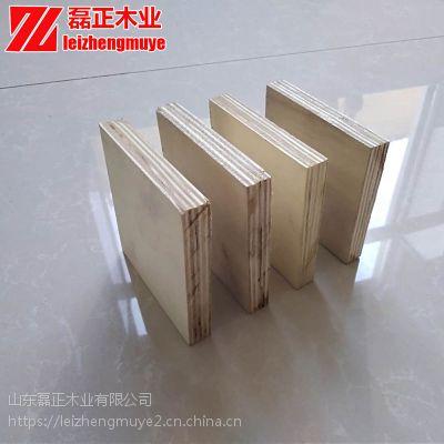 环保包装箱木板材磊正杨木整芯厚度均匀包装箱木板材