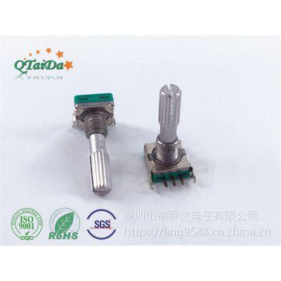 深圳厂家EC11脉冲旋转编码器 增量式调光调速编码器