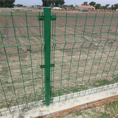 围墙护栏网 绿色铁网围栏 怀化市铁丝网围栏圈地用优盾丝网厂