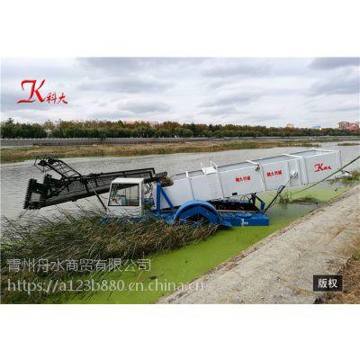 水草清理船 收割水中杂草 环保效率高