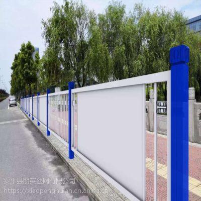 朋英 来样加工市政护栏网 锌钢护栏 喷塑