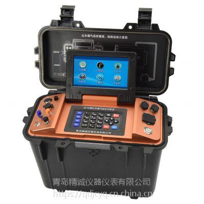 便携式红外烟气分析仪可手机无线操控 青岛精诚