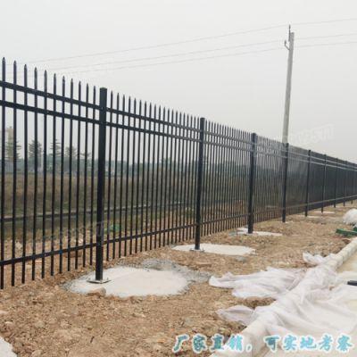 加工定做 锌钢隔离栅栏 阳江拼装铁艺护栏 厂区别墅围墙栏杆
