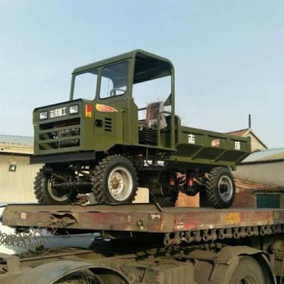 农用四驱柴油运输车 工程运输砂石自卸车 山路爬坡四不像工程车