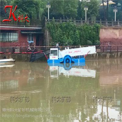 湖北清理水葫芦船构造 打捞水草机械供应
