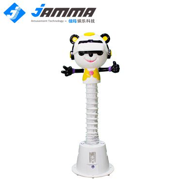 佳玛定制VR科技馆儿童vr设备熊猫头恐龙乐园儿童VR游乐设施可升降
