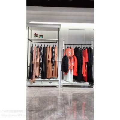 【名望贵族】18冬装新款连衣裙高端时尚专柜实体店杭州一线品牌尾单特卖