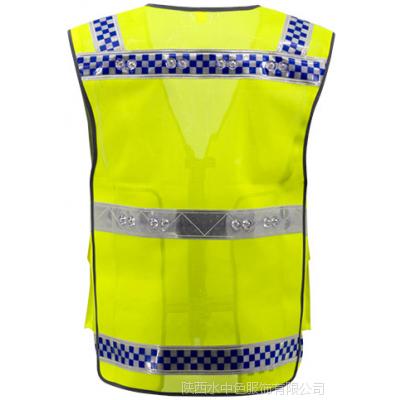 西安交通安全服装 户外勘察服 反光马甲背心防护服