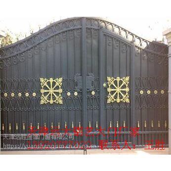 天津铝艺门铝艺大门别墅铝艺大门庭院铝艺大门安装