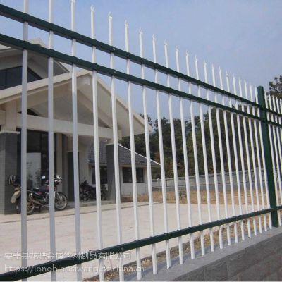 道路护栏围栏 学校围墙锌钢护栏 铁艺围栏